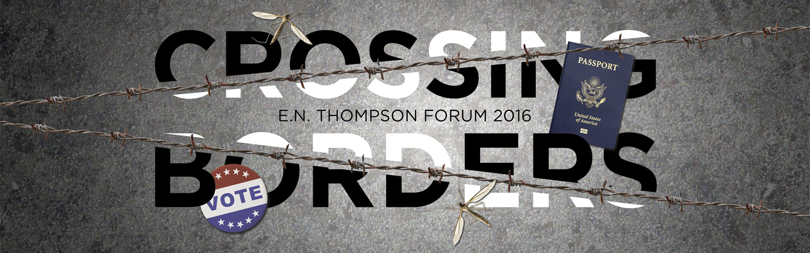 Crossing Borders - E.N. Thompson 2016-17 Season header image